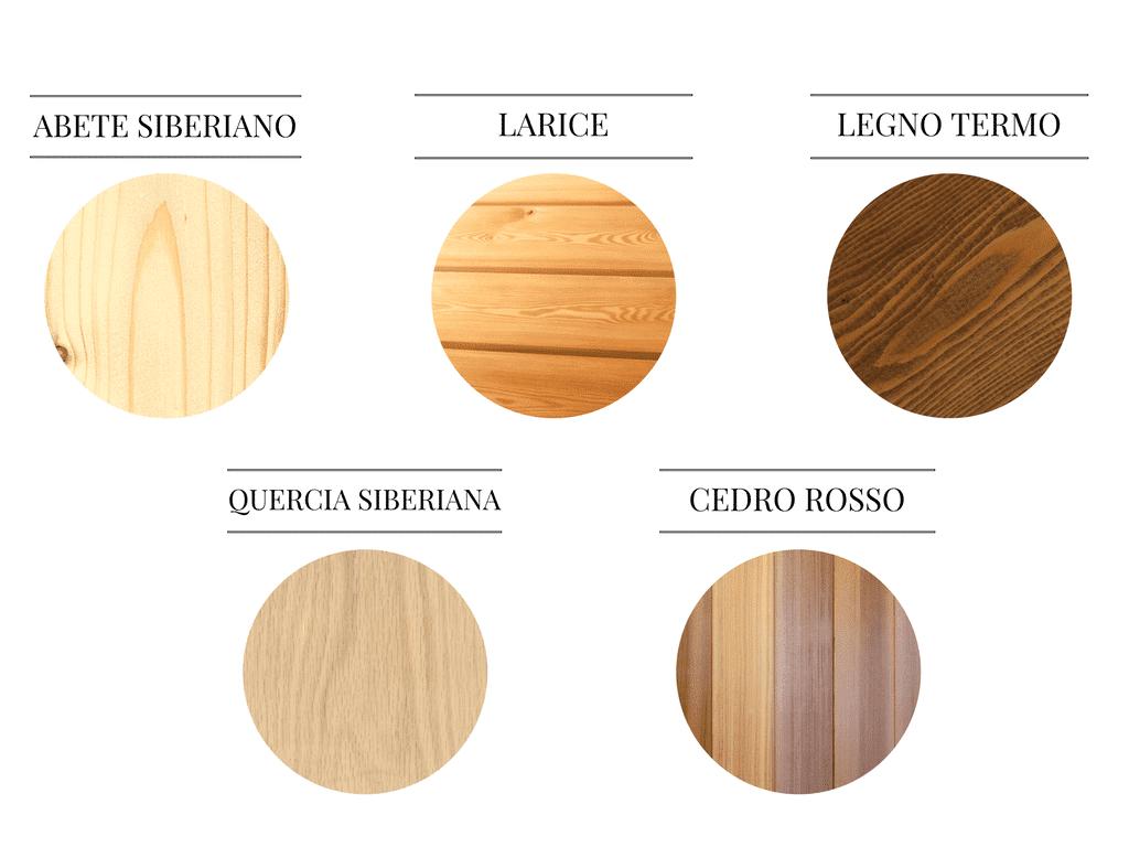 Tipi di legno timberIN vasca idromassaggio