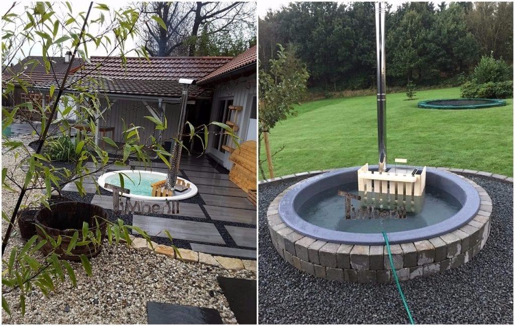 Vasca Da Terrazzo : La tua hot tub in legno sul terrazzo: dove e come? spa tinozza