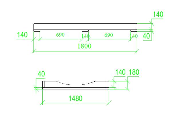 base per la sauna barile da 2 metri