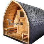 Esterno Igloo Sauna