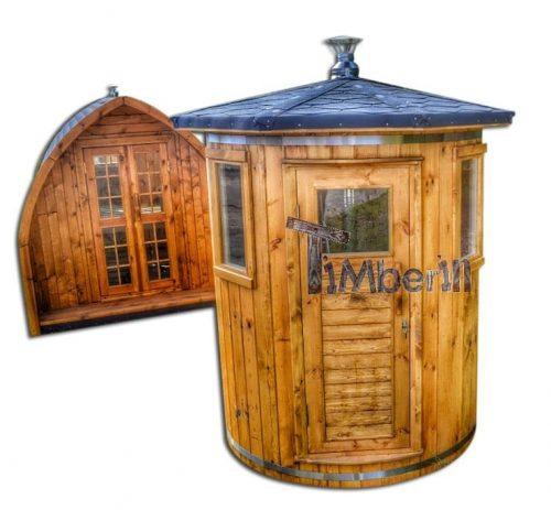 Saune da esterno 2 posti piccole dimensioni