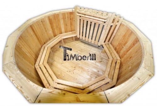 Vasca idromassaggio per esterno riscaldata legno