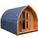Igloo casa campeggio in legno