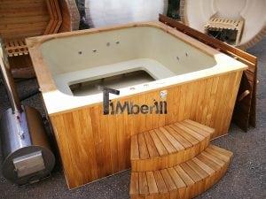 Hot tub in polypropylene modello rettangolare (26)