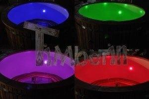 LED hot tub