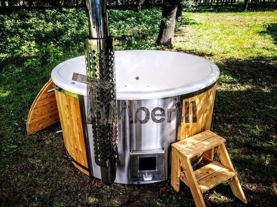 Hot Tubs in Legno | Vasca Tinozza da Esterno in Giardino | TimberTemp®
