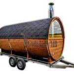 Sauna A Botte All'aperto Con Caminetto E Forno A Legna (39)