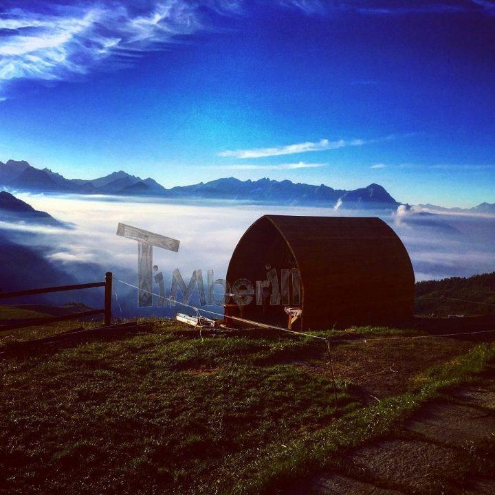 Sauna All'aperto Per Giardino Igloo, Marcello, Doues Aosta, Italia (1)