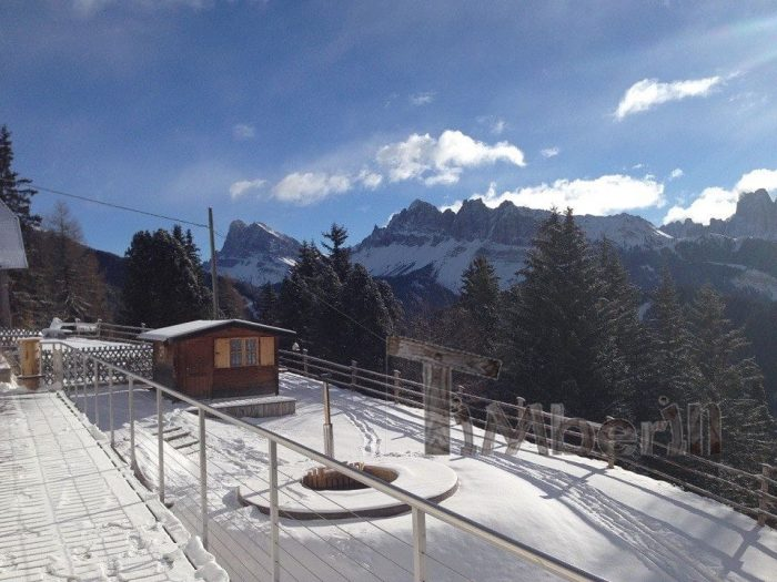 Vasca Tinozza In Legno Deluxe, Andreas, Hotel Aurora, Brixen (BZ), Italien (1)