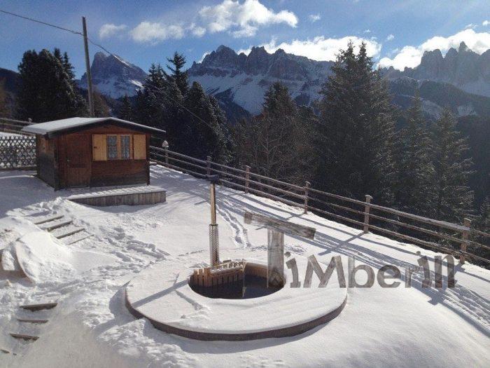 Vasca Tinozza In Legno Deluxe,Andreas, Hotel Aurora, Brixen (BZ), Italien (4)