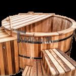 Vasca idromassaggio esterno legno cedro rosso