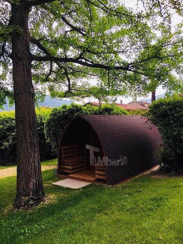 Sauna All'aperto Per Giardino Igloo, Villa Angelica, San Giacomo, Italia (1)