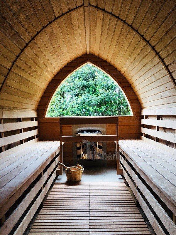Sauna All'aperto Per Giardino Igloo, Villa Angelica, San Giacomo, Italia (4)
