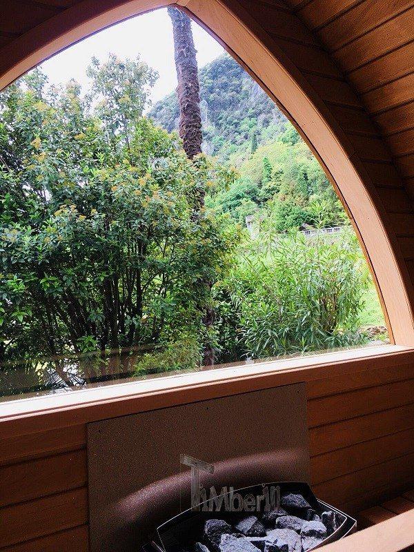 Sauna All'aperto Per Giardino Igloo, Villa Angelica, San Giacomo, Italia (5)