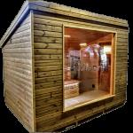 Moderna Sauna Da Esterno Per Giardino (1)