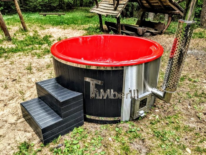 Tinozza Da Bagno Hot Tub In Vetroresina
