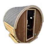 Mini Sauna A Botte Da Esterno Piccola 2 4 Persone (56)
