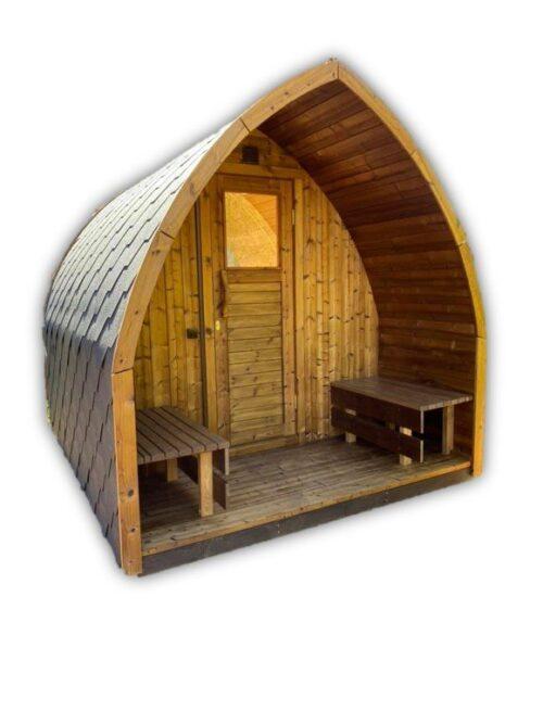 Sauna Da Esterno Per Giardino Stufa A Legna Iglu